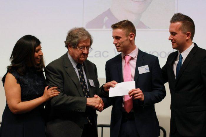 Sponsors Award - Zac Warwood